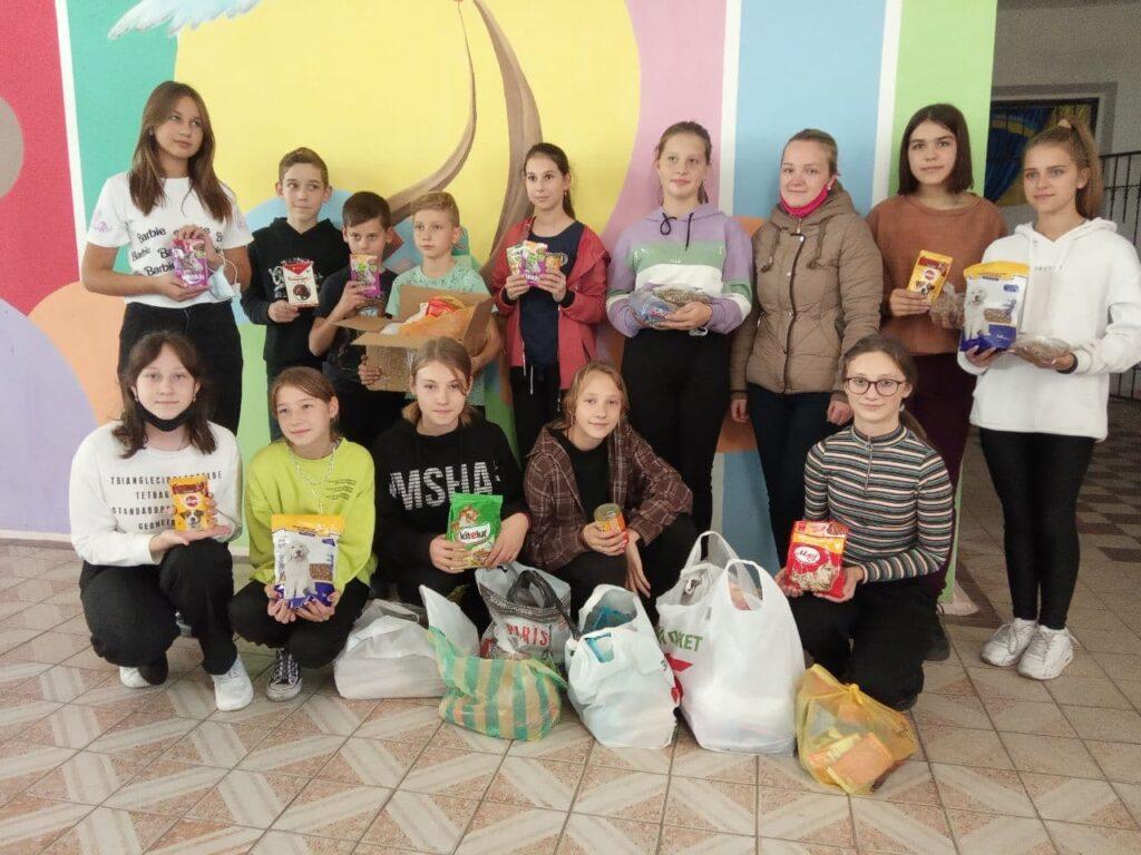 Волонтерська акція спільно з благодійним фондом «Щаслива лапа»